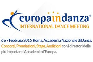 Ecco i risultati della prima edizione di EUROPAinDANZA