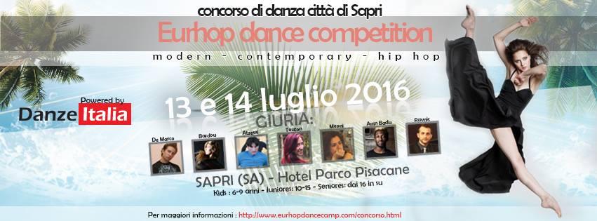 EurHop DanceCamp. Intervista a Enrico De Marco