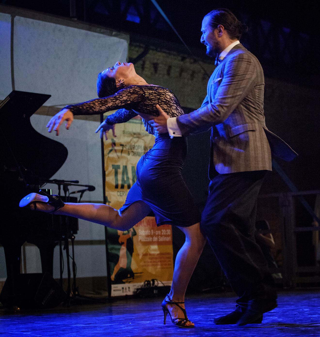 Grande successo per l'Italia alle finali del 7° Festival e Campionato Europeo di Tango