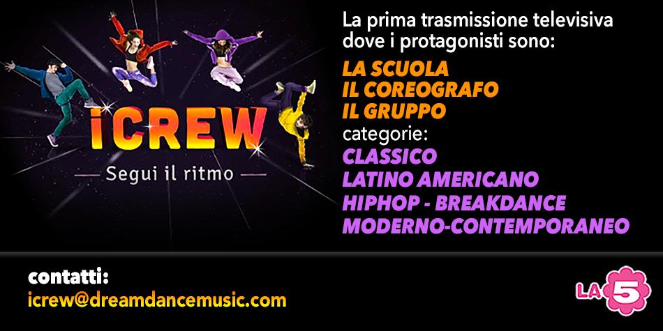 Su La5 arriva iCrew, il talent dedicato alla danza