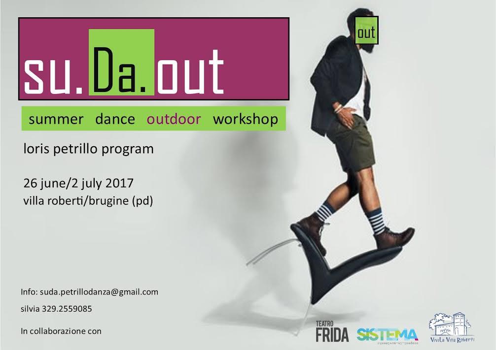 SU.DA.OUT Summer Dance Outdoor Workshop