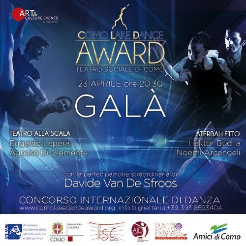 GALA' COMO LAKE DANCE AWARD