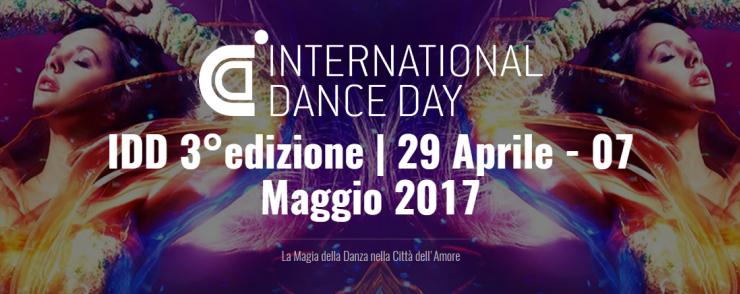29 Aprile – 7 Maggio 2017 in occasione della Giornata Internazionale della Danza promossa dall'UNESCO