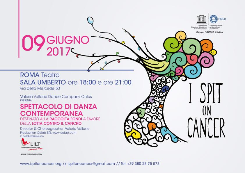 I SPIT ON CANCER, per combattere insieme la paura