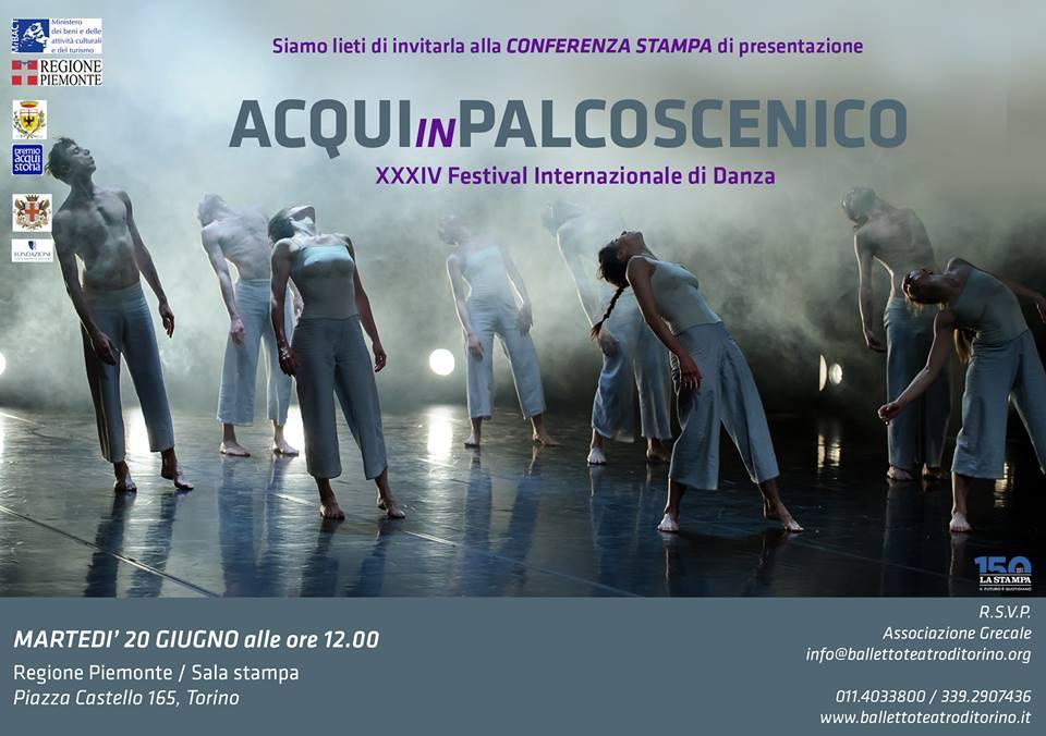ACQUI IN PALCOSCENICO. XXXIV Festival Internazionale di Danza