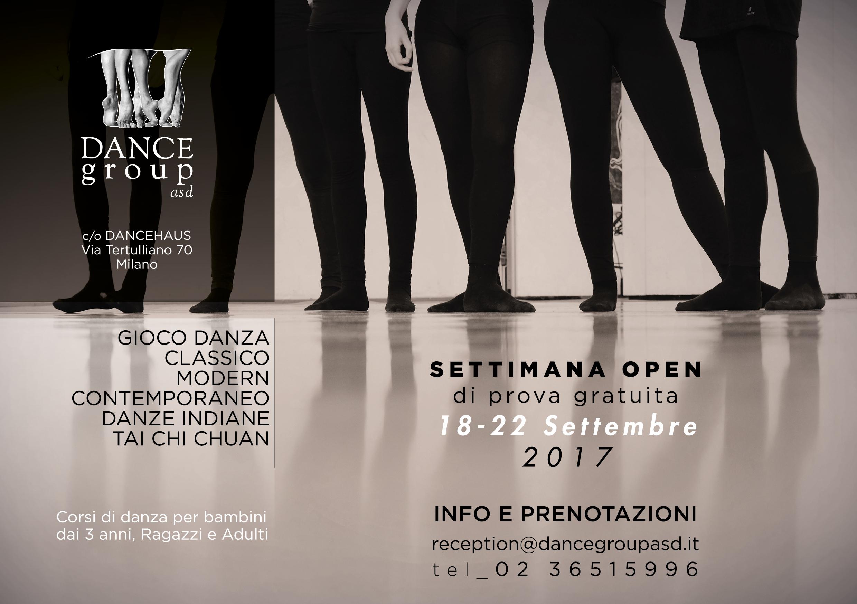 DANCEgroup, la presentazione dei prossimi corsi