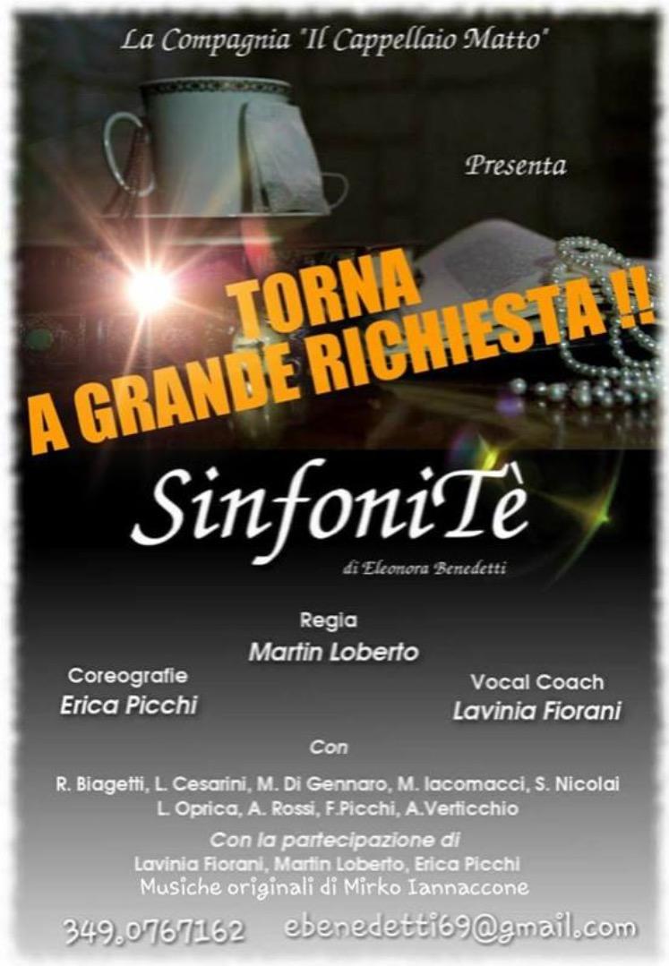 La Compagnia del Cappellaio Matto a GRANDE RICHIESTA ritorna al ROMA COMIC OFF con Sinfonitè