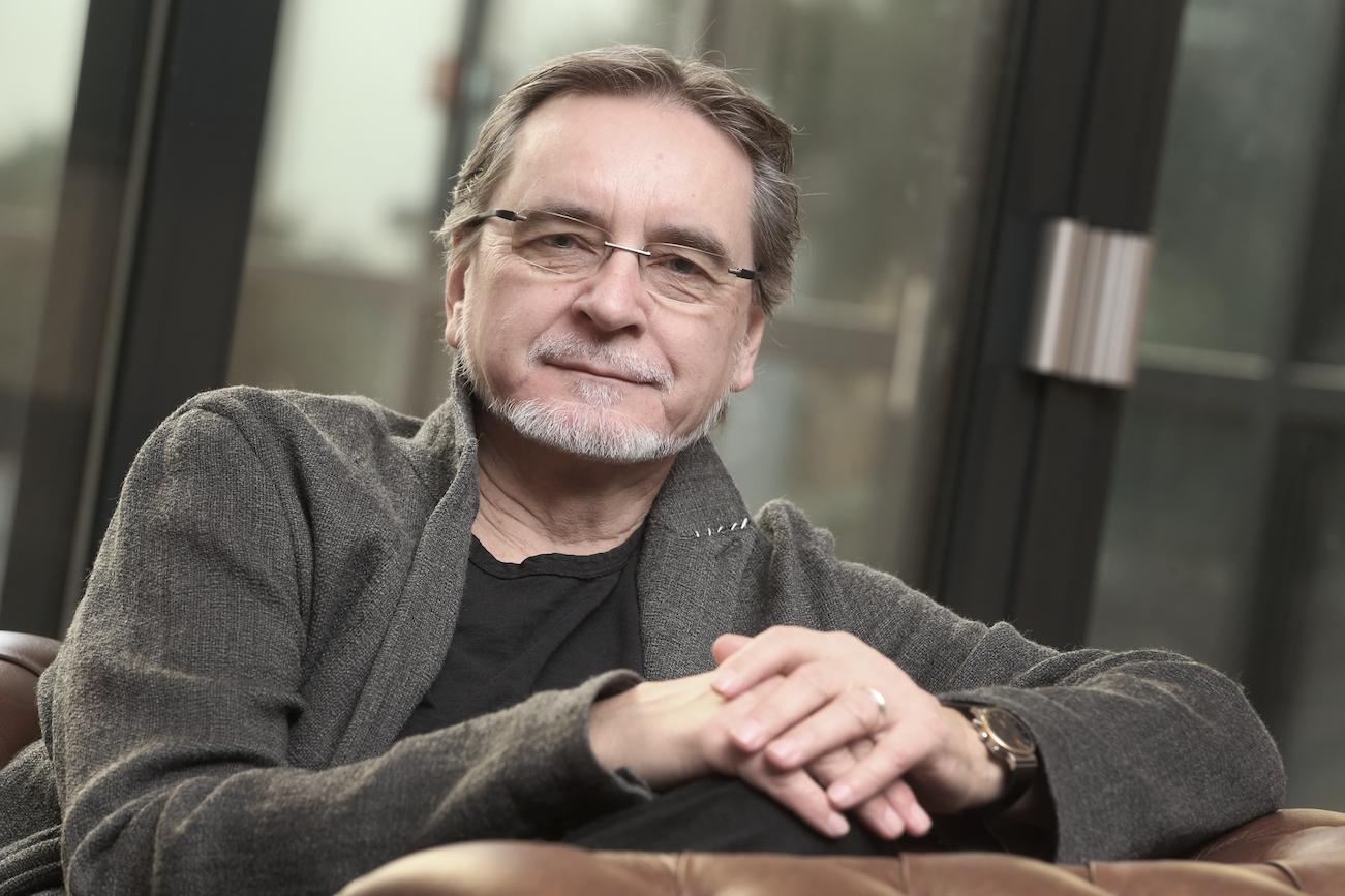 Jiří Kylián (*1947, Praha) je český taneční choreograf, tanečník a fotograf. 27.1.2017,
