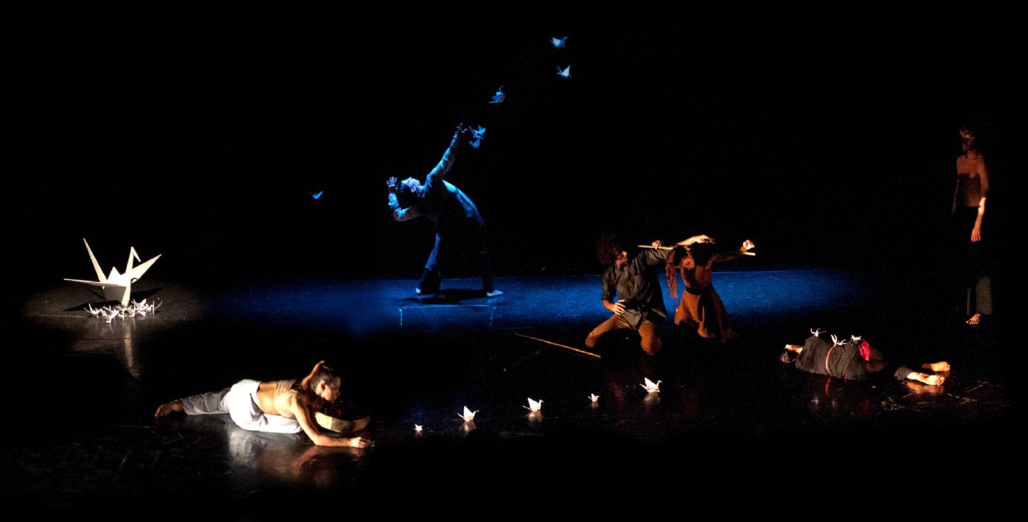 Mandala Dance Company a Ladispoli con LE MILLE GRU_Omaggio a Sadako Sasaki