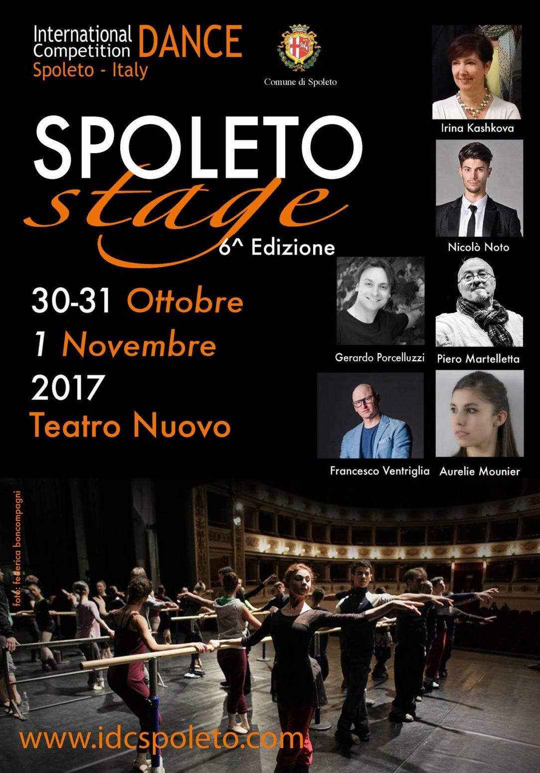 Arriva la sesta edizione dello Spoleto Stage