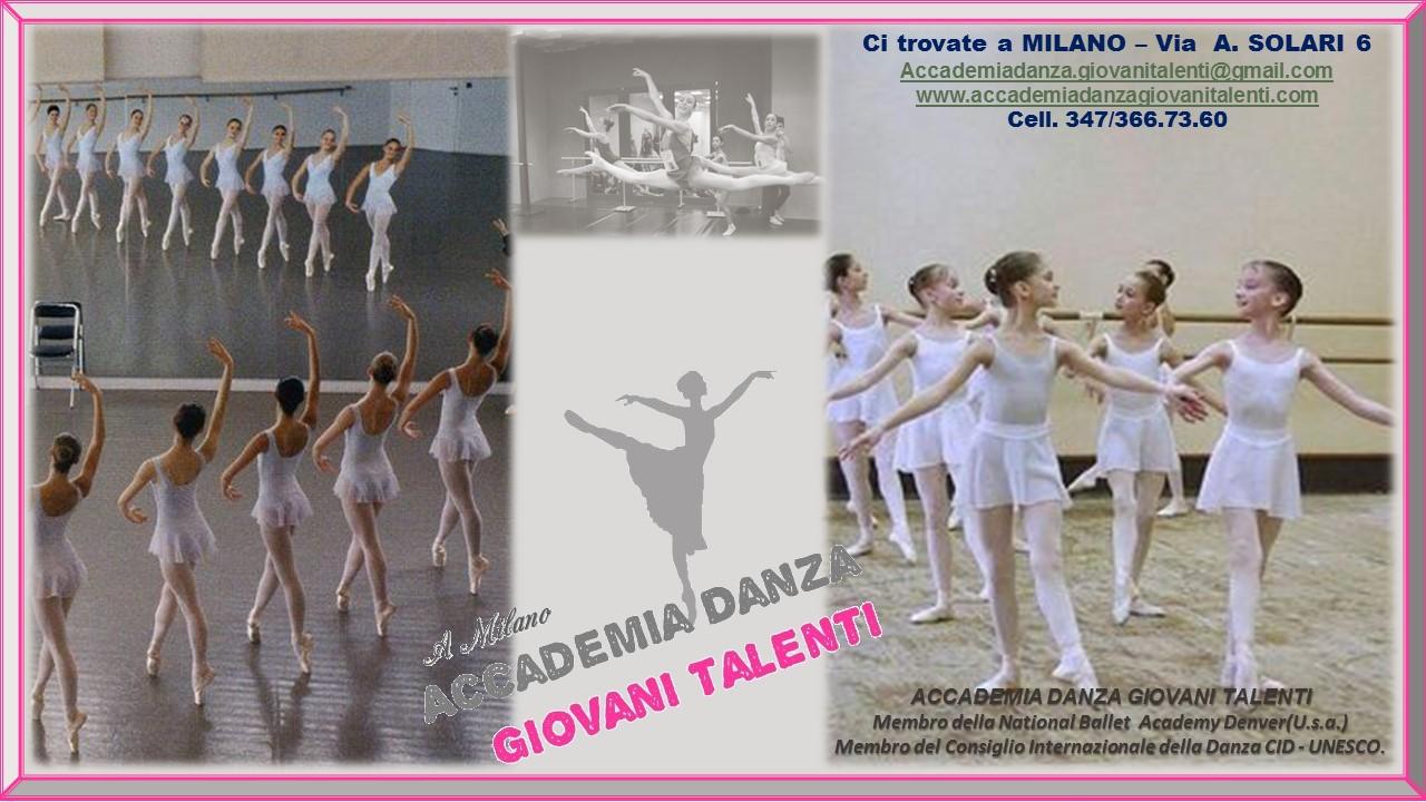 Accademia Danza Giovani Talenti, a Milano un progetto di ...